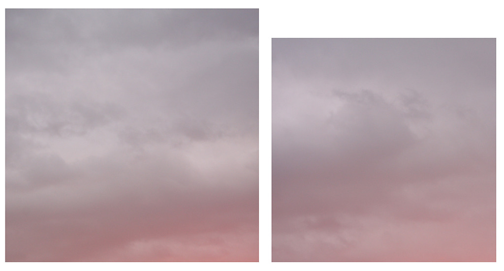 Baltic Sea / Composition / Diptych / Pure Violet #1, #2, 2016